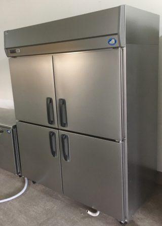 2016年製【超美品/中古】縦型冷蔵庫/パナソニックSRR-K1581S 幅1460×奥行800×高さ1950