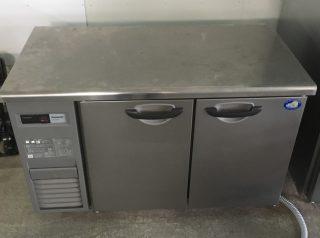 【中古/美品】冷蔵コールドテーブル/パナソニック SUR-K1261SA 2016年製 幅1200×奥行600×高さ800