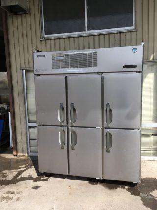 【中古】縦型冷凍庫/ホシザキ HF-150X3-6D-IC-FA 2006年製 幅1200×奥行650×高さ1890