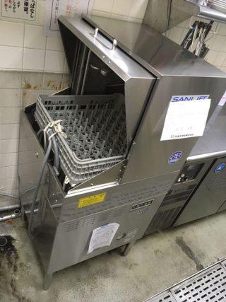 食器洗浄機搬入