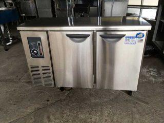 【中古】コールドテーブル冷蔵庫/パナソニック SUC-N1241J-幅1200×奥行450×高さ800